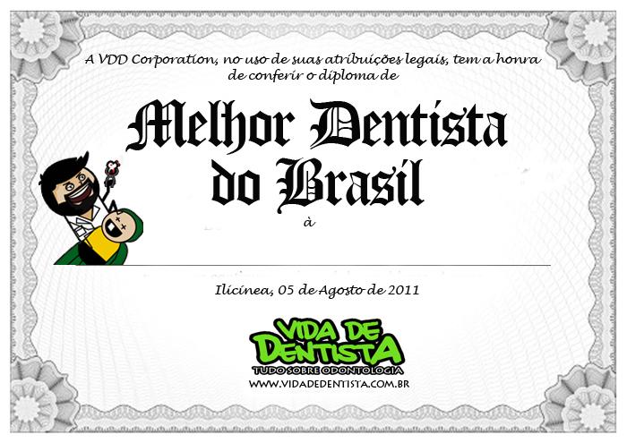 melhor dentista do Brasil