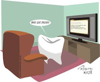 dente com problema de canal