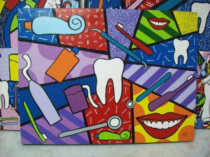 quadro dentista