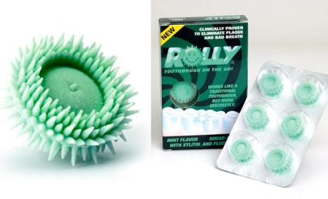 Rolly Brush, a escova de dentes mastigável