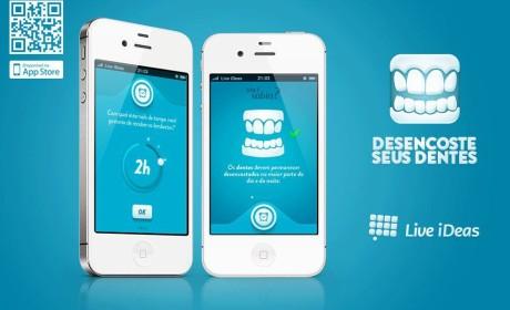 Desencoste seus Dentes – App para iPhone