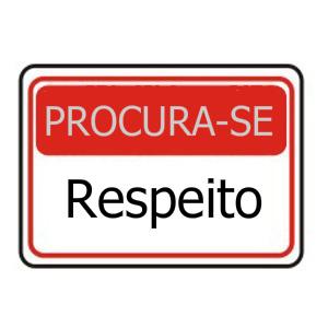 Só os profissionais devem ser respeitados?