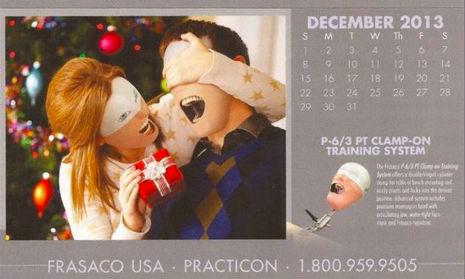 Calendário de dentista