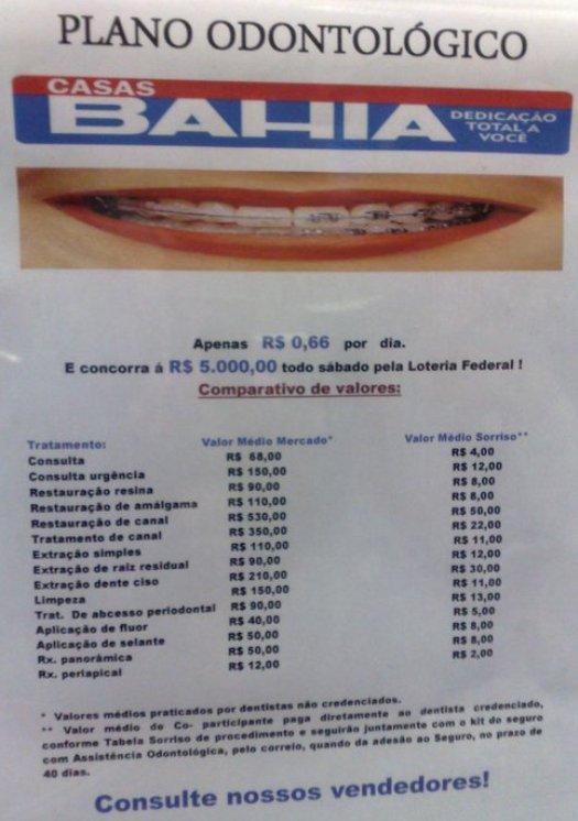 Planos odontológicos de redes de varejo estão sendo investigados
