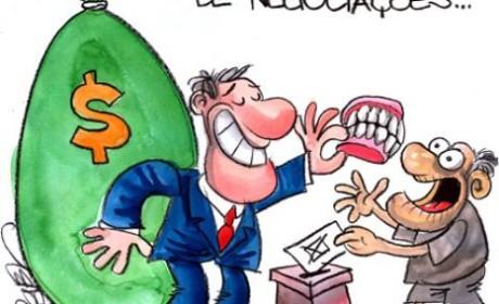 Dilma está comprando votos com próteses dentárias