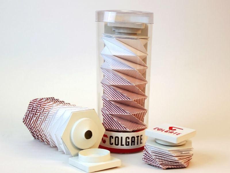 Um tubo de creme dental como você nunca viu