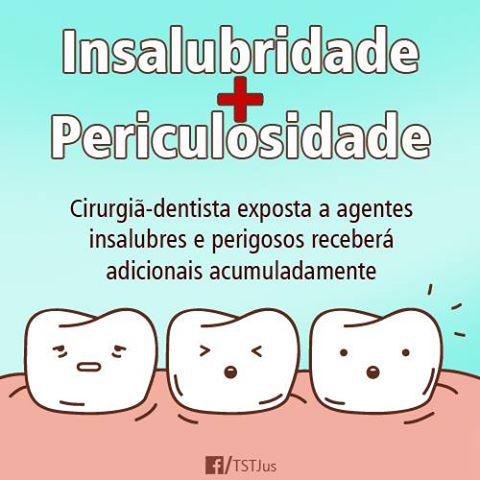 insalubridade dentista